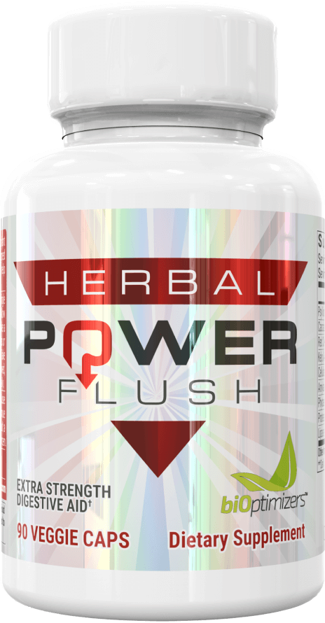 Herbal Power Flush | Quickly and permanently eliminate constipation